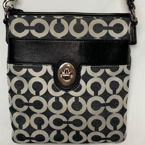 Coach logo crossbody purse